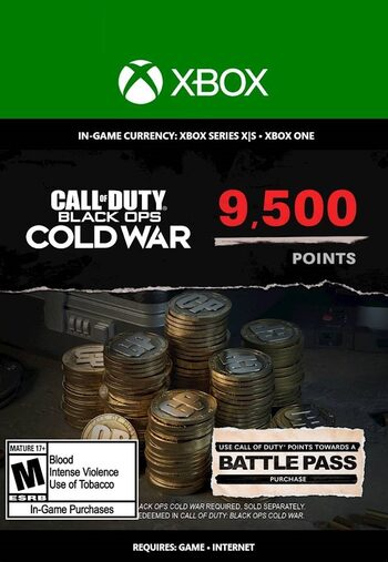 9,500 Call of Duty: Black Ops Cold War Points XBOX LIVE Key GLOBAL