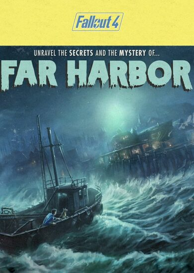 Fallout 4 Far Harbor (DLC) Steam Key GLOBAL