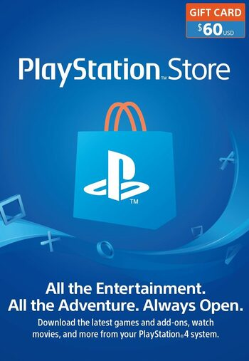 PlayStation Network Card 60 USD (USA) PSN Key UNITED STATES