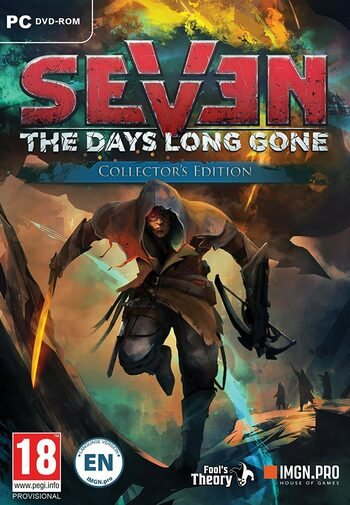 SEVEN: The Days Long Gone Collector's Edition Steam Key GLOBAL