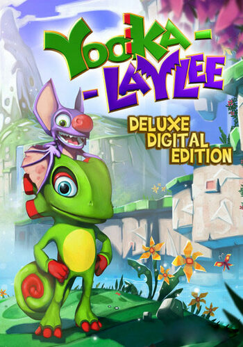 Yooka-Laylee (Digital Deluxe) Steam Key GLOBAL