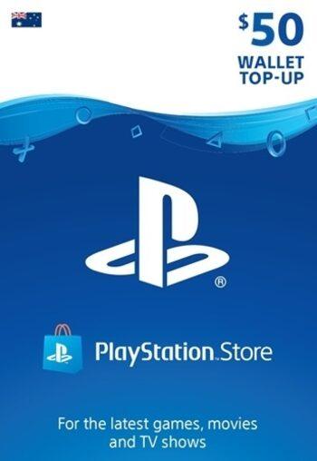 PlayStation Network Card 50 AUD (AU) PSN Key AUSTRALIA