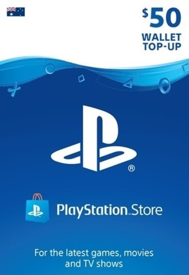 PlayStation Network Card 50 AUD (AU) PSN Key AUSTRALIA