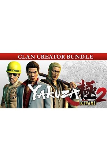 Yakuza Kiwami 2 Clan Creator Bundle (DLC) Steam Key GLOBAL