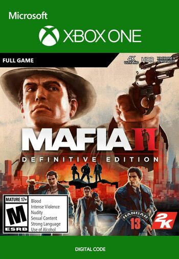 Mafia II: Definitive Edition (Xbox One) Xbox Live Key EUROPE