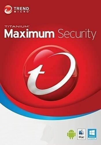 Trend Micro Maximum Security 3 Devices 3 Years Key GLOBAL