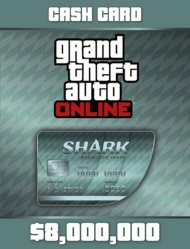 Grand Theft Auto V GTA + Megalodon Shark Cash Card Rockstar Social Club Key GLOBAL