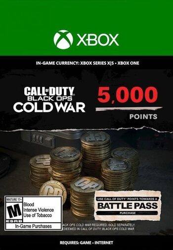 5,000 Call of Duty: Black Ops Cold War Points XBOX LIVE Key GLOBAL