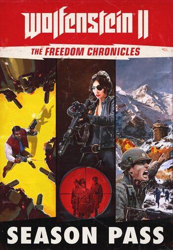 Wolfenstein II: The Freedom Chronicles - Season Pass (DLC) Steam Key GLOBAL