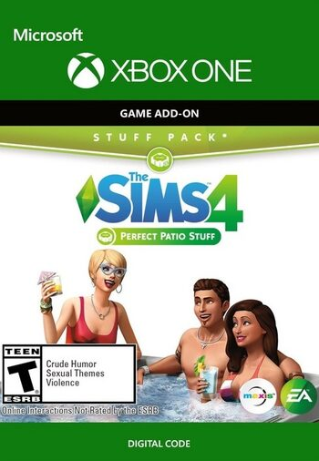 The Sims 4: Perfect Patio Stuff (DLC) (Xbox One) Xbox Live Key UNITED STATES
