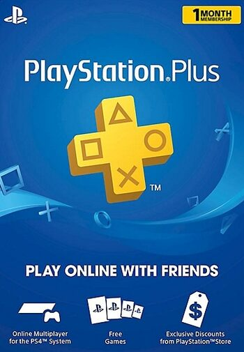 PlayStation Plus Card 30 Days (USA) PSN Key UNITED STATES