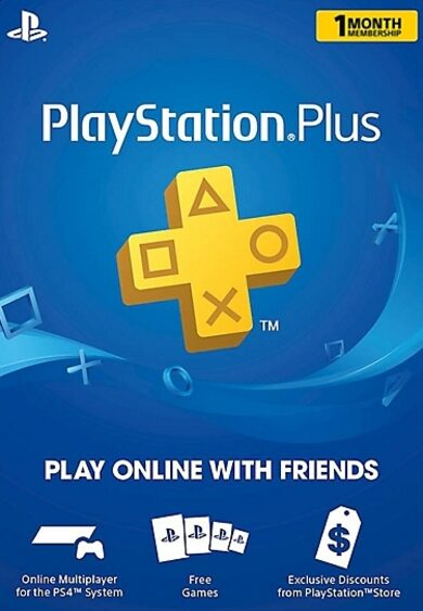 PlayStation Plus Card 30 Days (USA) PSN USA Código Más Barato