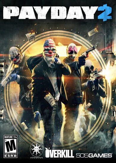 PAYDAY 2 - Lycanwulf and The One Below Masks (DLC) Steam Key GLOBAL