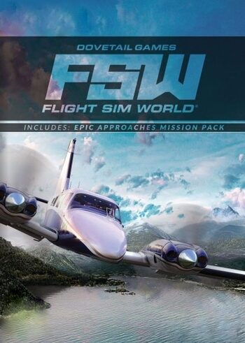 Flight Sim World + Epic Approaches Mission Pack Steam Key GLOBAL