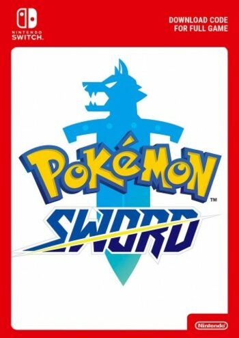 Pokemon Sword (Nintendo Switch) eShop Key EUROPE