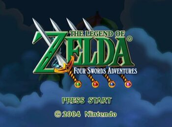 The Legend of Zelda: A Link to the Past and Four Swords Game Boy Advance