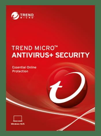 Trend Micro Antivirus Plus 1 Year 1 Device Key GLOBAL