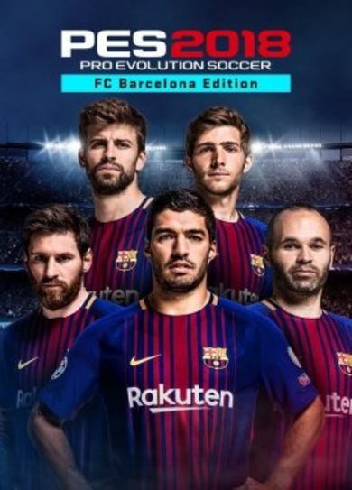 Pro Evolution Soccer 2018 FC Barcelona Edition Steam Key EUROPE