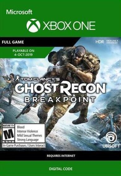 Tom Clancy's Ghost Recon: Breakpoint (XBOX ONE) Xbox Live Key UNITED STATES