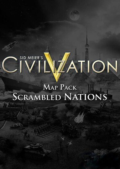 Sid Meier's Civilization V - Scrambled Nations Map Pack (DLC) Steam Key GLOBAL
