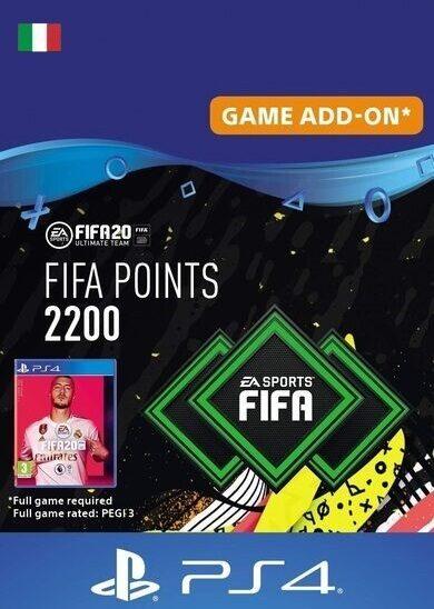 FIFA 20 - 2200 FUT Points (PS4) PSN Key ITALY