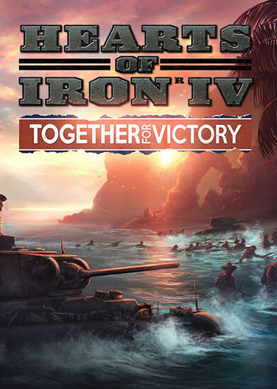Hearts of Iron IV: Together for Victory (DLC) Steam Key GLOBAL