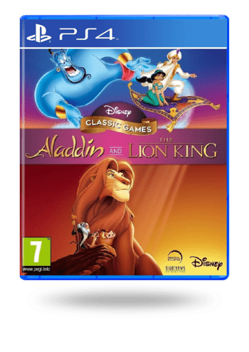 Disney Classic Games: Aladdin and the Lion King PlayStation 4