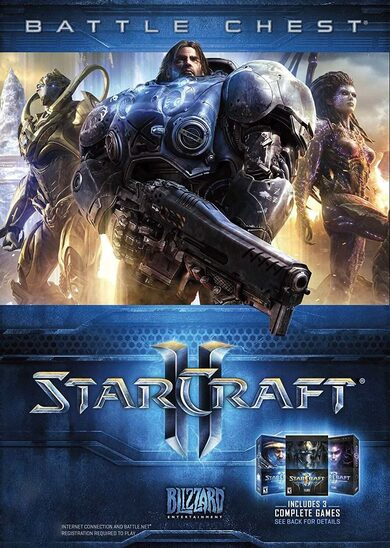 StarCraft II Battle Chest Battle.net Key EUROPE