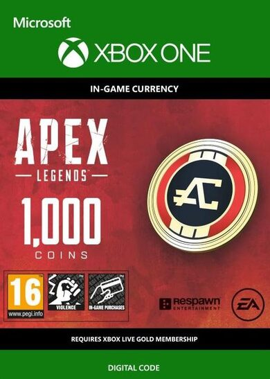 Apex Legends 1000 Apex Coins (XBOX ONE) XBOX LIVE Key GLOBAL