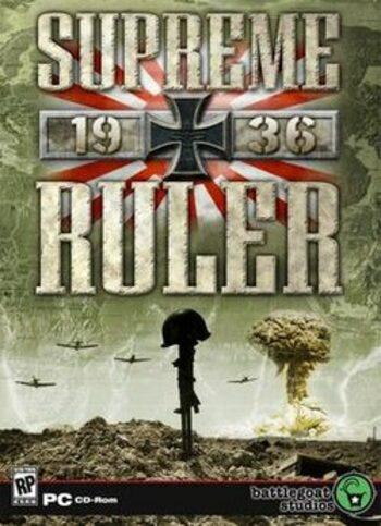 Supreme Ruler 1936 Steam Key GLOBAL