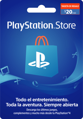 Tarjeta PlayStation Network Card 20 USD (CL) código PSN CHILE