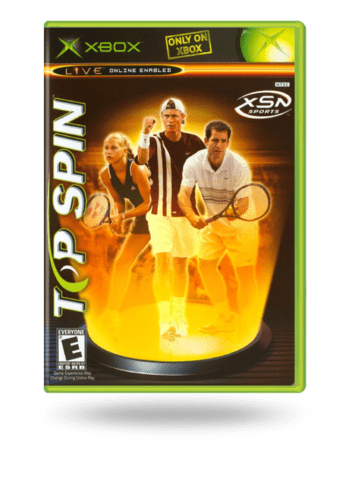 Top Spin Xbox