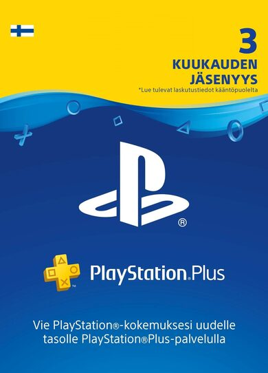 PlayStation Plus Card 90 Days (FIN) PSN Key FINLAND