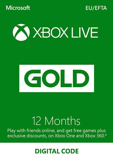 cheap Xbox Live Gold 12 months Xbox Live Key EUROPE