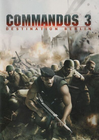 Commandos 3: Destination Berlin Steam Key GLOBAL