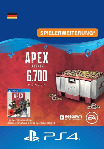 Apex Legends 6700 Apex Coins (PS4) PSN Key GERMANY