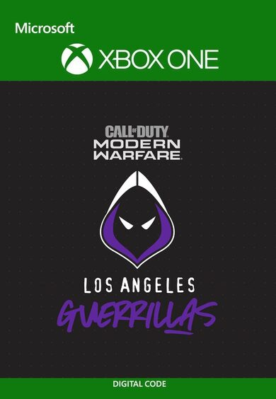 Call of Duty Modern Warfare Los Angeles Guerrillas Pack Xbox One
