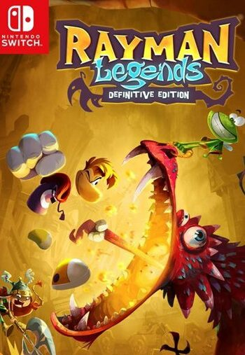 Rayman Legends Definitive Edition (Nintendo Switch) eShop Key EUROPE