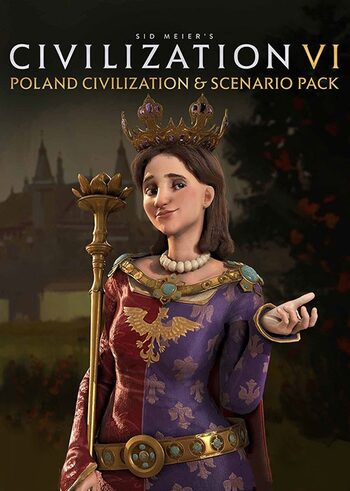 Sid Meier's Civilization VI - Poland Civilization & Scenario Pack (DLC) Steam Key GLOBAL