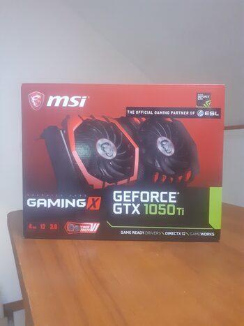 MSI GeForce GTX 1050 Ti 4 GB 1341-1455 Mhz PCIe x16 GPU