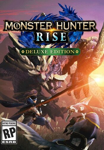 Monster Hunter Rise Deluxe Edition (Nintendo Switch) eShop Key NORTH AMERICA
