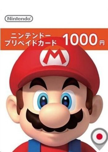 Nintendo eShop Card 1000 JPY Key JAPAN