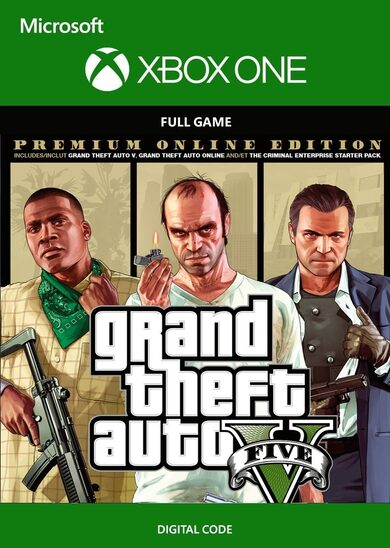 Grand Theft Auto V: Premium Online Edition (Xbox One) Xbox Live Key GLOBAL