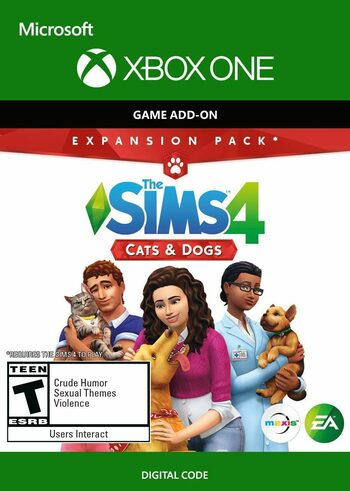 The Sims 4: Cats & Dogs (Xbox One) (DLC) Xbox Live Key GLOBAL