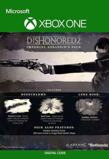 Dishonored 2 Imperial Assassin's Pack (DLC) XBOX LIVE Key GLOBAL