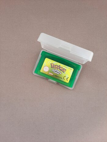Pokémon LeafGreen Version Game Boy Advance