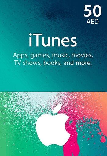 Apple iTunes Gift Card 50 AED iTunes Key UNITED ARAB EMIRATES
