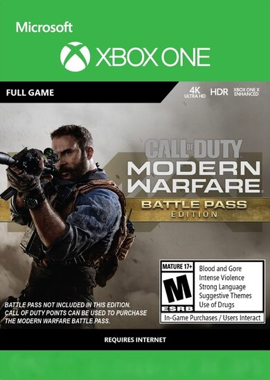 Call of Duty: Modern Warfare (Battle Pass Edition) (Xbox One) Xbox Live Key EUROPE