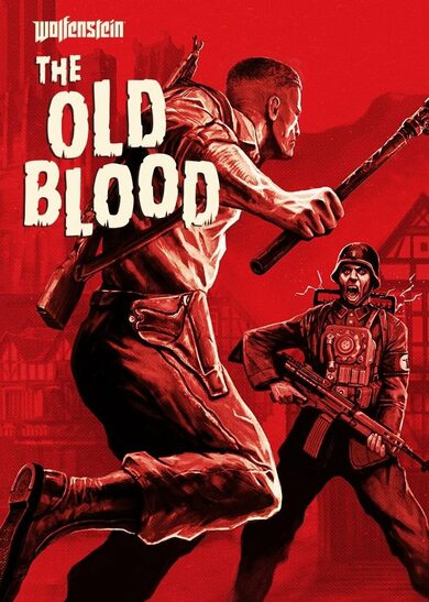 Wolfenstein: The Old Blood (CUT DE VERSION) Steam Key EUROPE