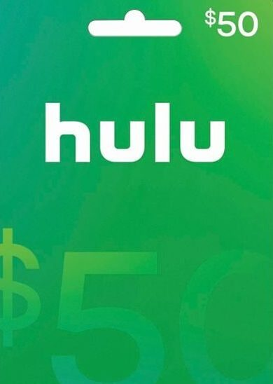 HULU $50 USD Gift Card Key NORTH AMERICA